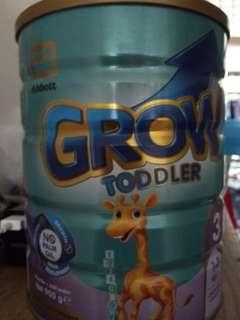 Milk Powder Grow