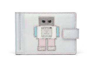 MCM Roboter Series Money Clip Silver Limited - Authentic