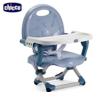 (Chicco) Pocket snack攜帶式輕巧餐椅座墊-空氣藍