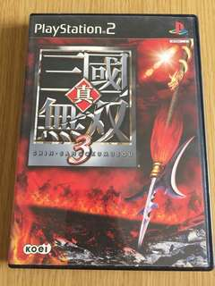 PS2 真三國無雙3 PlayStation 2 game