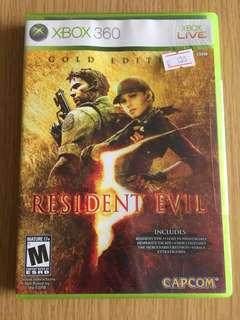 Xbox360 Game Resident Evil 5