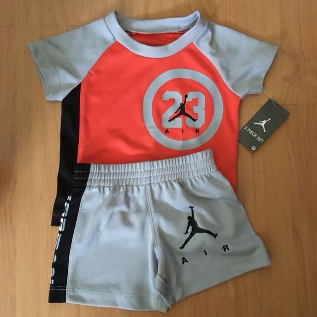 a943688da712 Air Jordan Baby Shirt and Shorts (2 piece set)