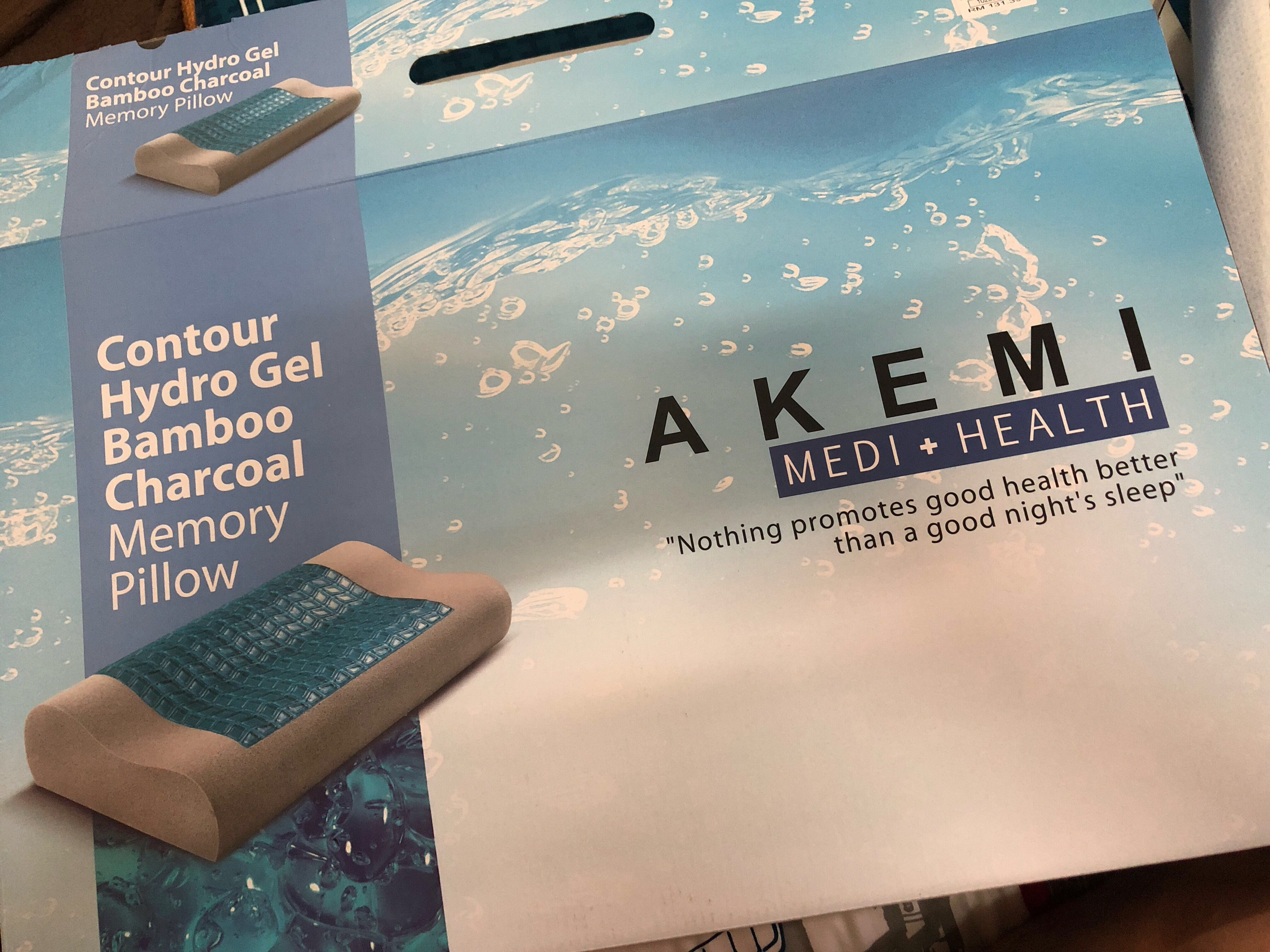Akemi Memory Pillow Medi Health Home Amp Furniture Others