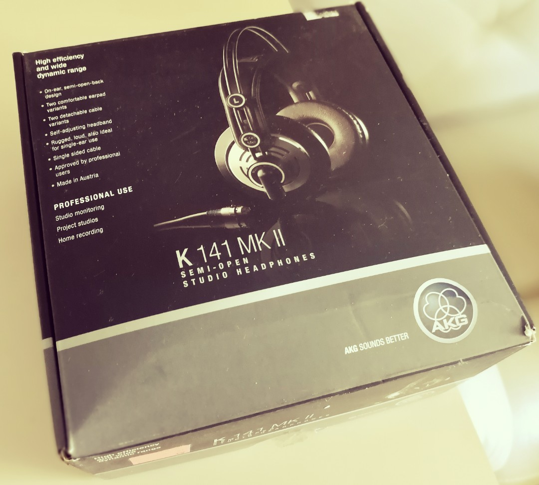 93d7b41fddc AKG Pro Audio K141 MKII, Electronics, Audio on Carousell
