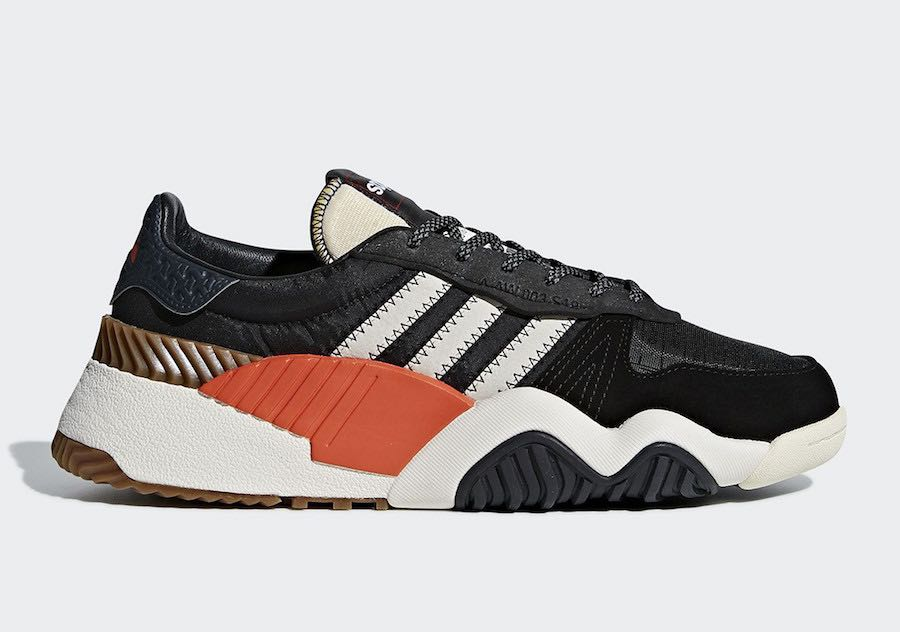 Alexander Wang X Adidas turnout trainer black white orange 4846dc33c