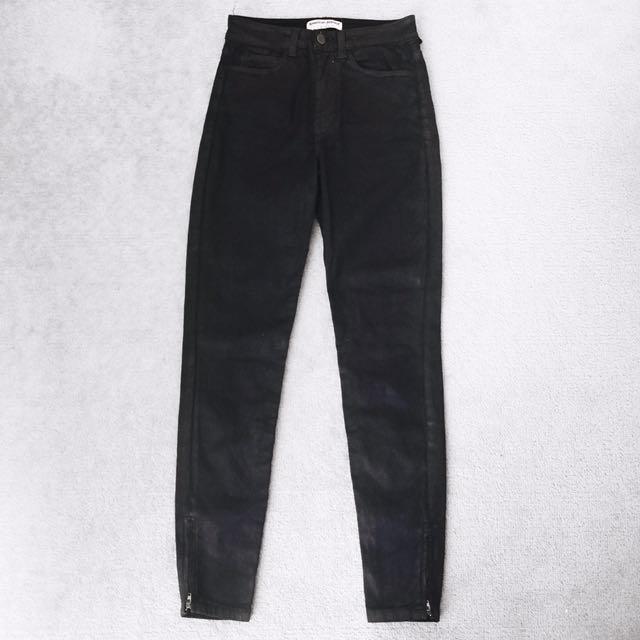 American Apparel High Waist Jeans