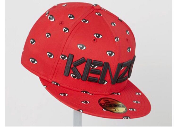 Authentic All Over Eyes 59Fifty Fitted Cap by Kenzo x NEW ERA f9b935a2ca9