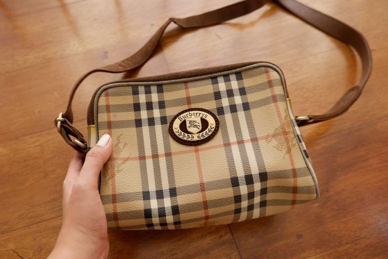 5dd649f2e0d Authentic Burberry Sling Bag, Women's Fashion, Bags & Wallets on Carousell