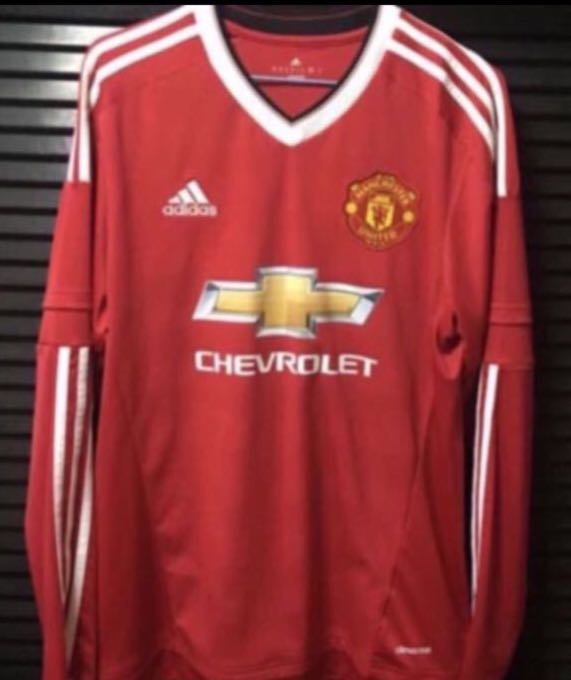 934f46ffa98 Authentic Manchester United 15 16 Jersey