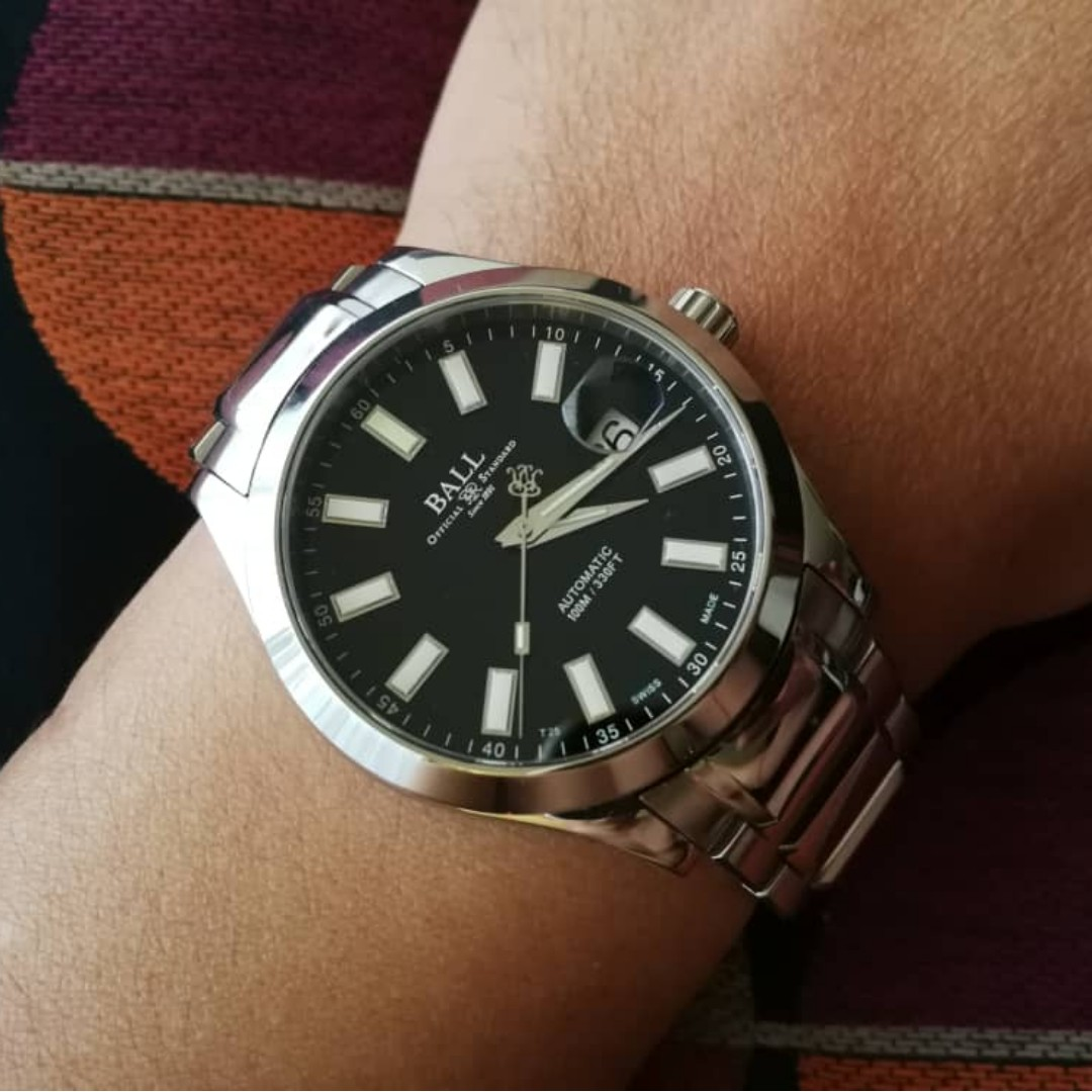 fff2b4dbc BALL ENGINEER II MARVELIGHT Swiss Made Automatic Watch, Men's Fashion,  Watches on Carousell