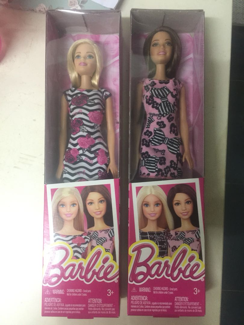 108a57022433e Barbie Dolls complete set with dress and shoes, Toys & Games, Other ...