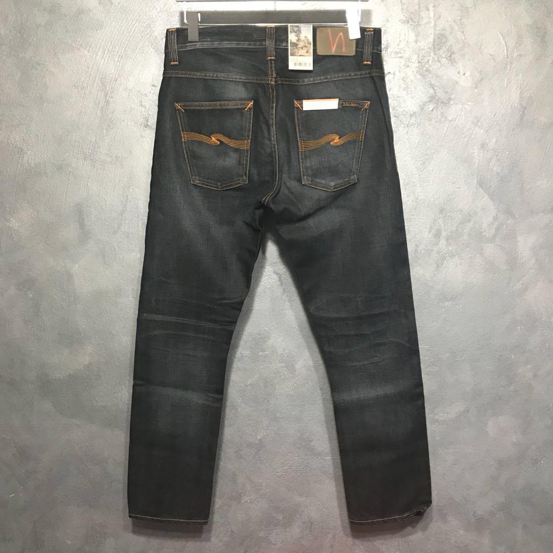 c350169858671 BNWT Nudie Jeans Dude Dan Ink Orange