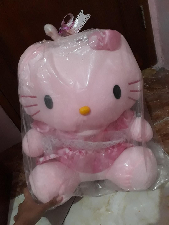 Boneka Hello Kitty Jumbo Toys Collectibles On Carousell Keropi