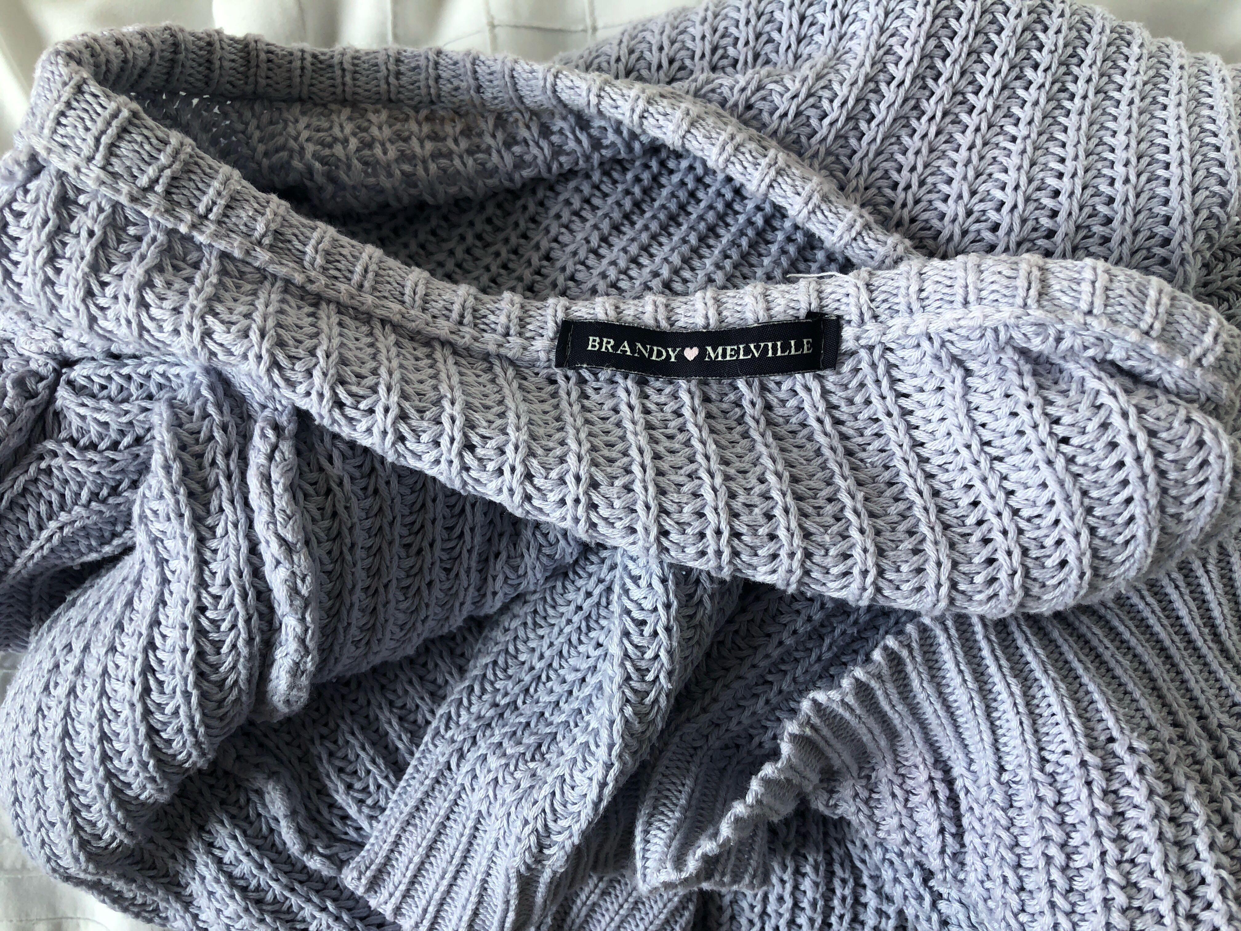 073166f11d2 Brandy Melville Ollie Sweater *RARE LILAC COLOUR*