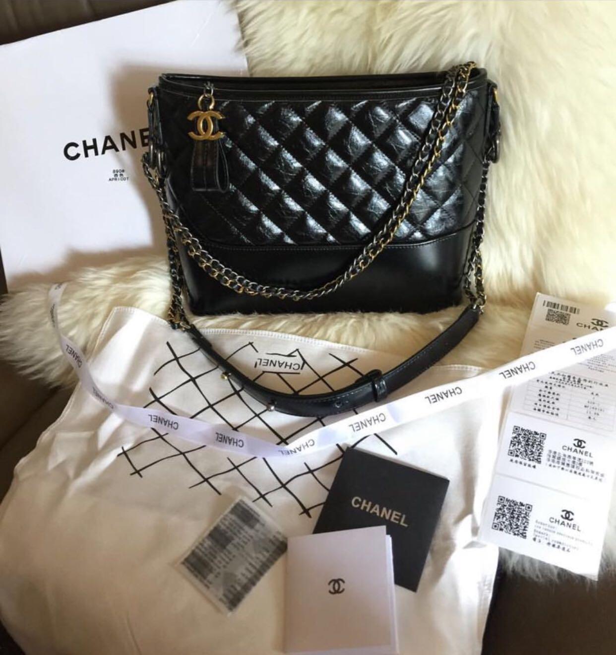 a6cae097859f Chanel Gabrielle Large Hobo Black ( Sling or waist), Women's Fashion ...