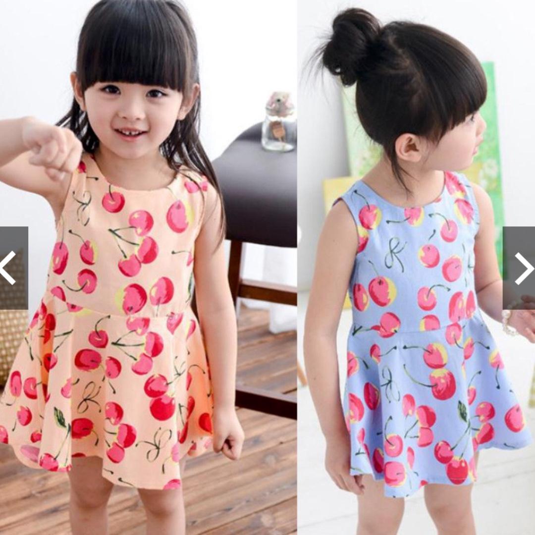 9d763a948e93 Cute Princess Dresses Baby Girls Lovely Sleeveless Summer Cotton ...