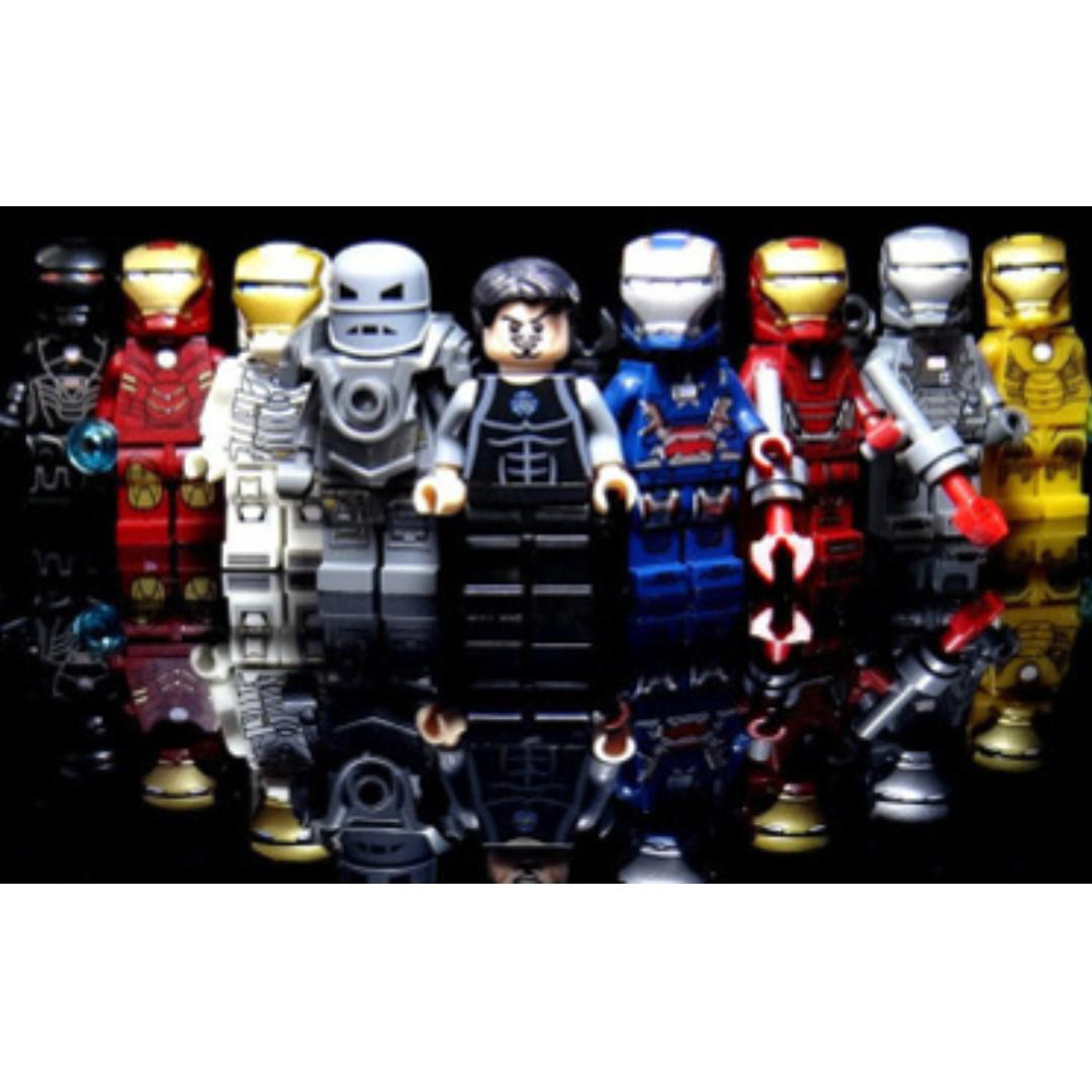 Decool Ironman lego-compatible minifigures set , Toys