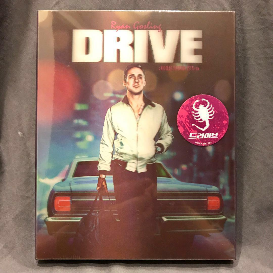 DRIVE Blu-ray NOVA MEDIA EXCLUSIVE STEELBOOK NE001 Lenticular Slip No. 318 Bluray US$83 | S$106