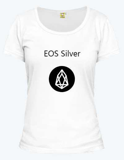 EOS Silver T-shirt for women
