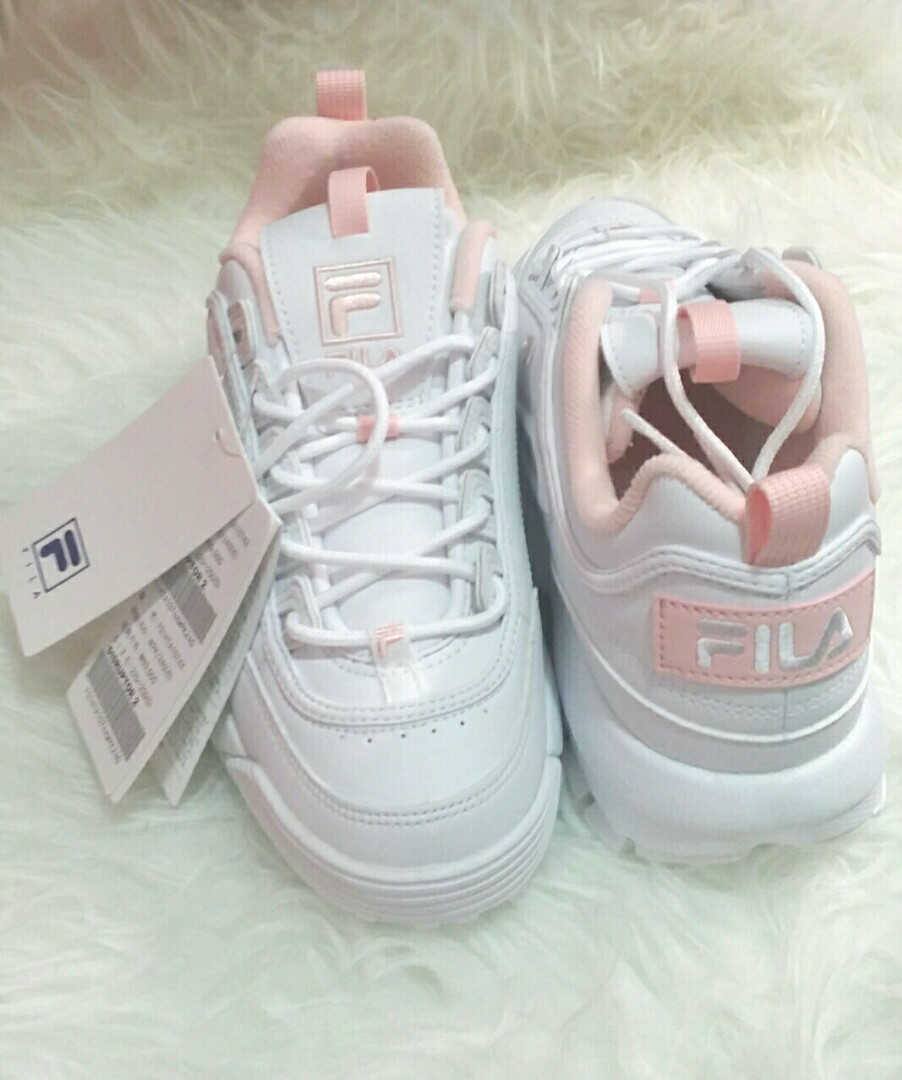 33d54a319ce89 Fila Disruptor II Baby Pink