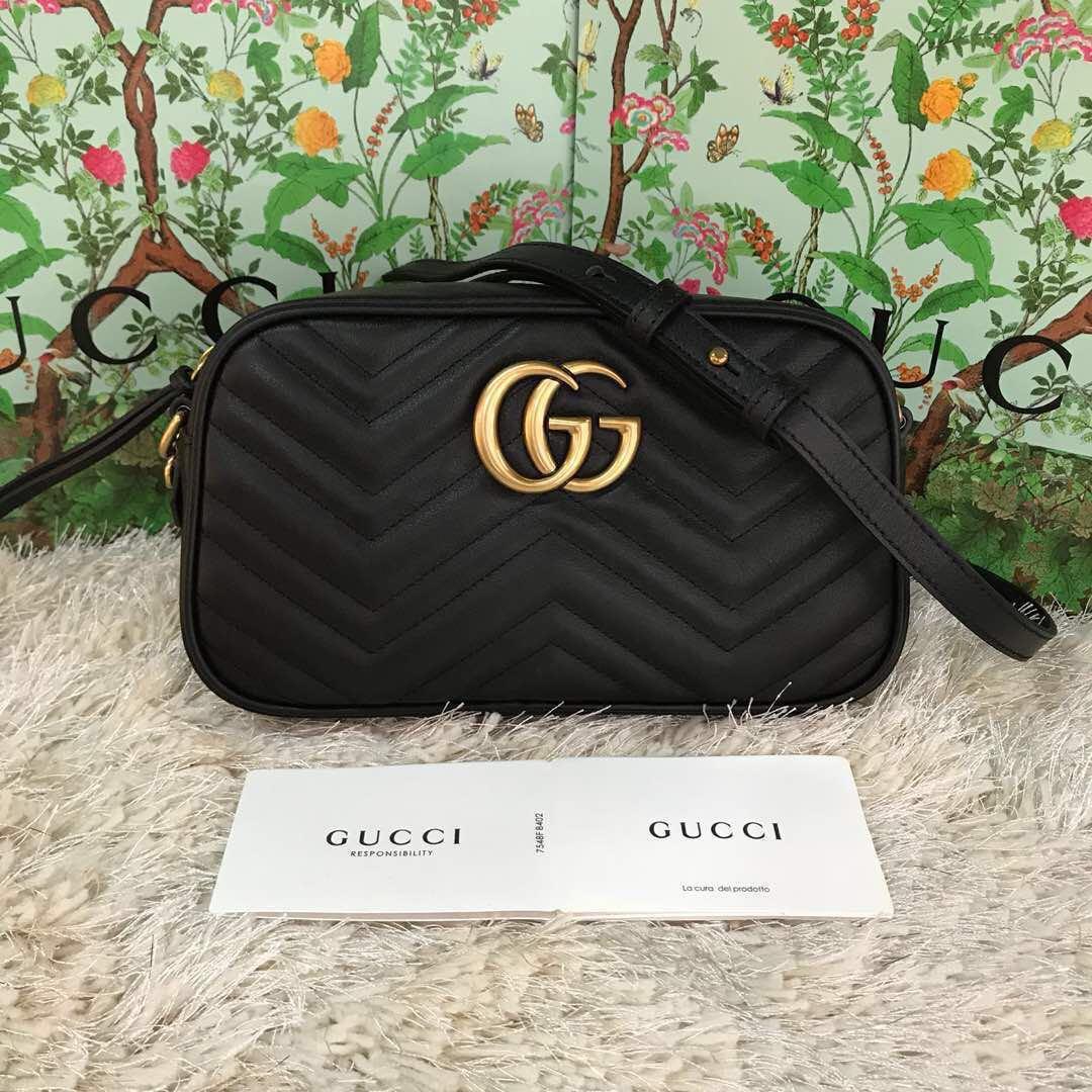 2f8bb980626a46 Gucci GG Marmont Small Shoulder#fastdeal, Barangan Mewah, Beg dan ...