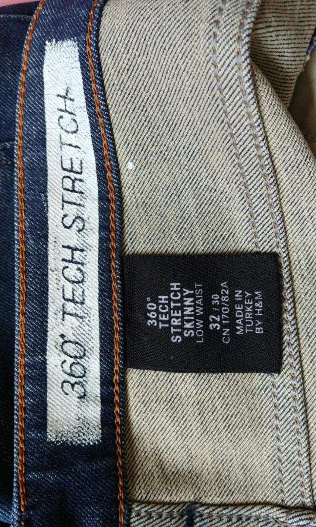 "H&M jeans 30"" 牛仔褲  not H&M"