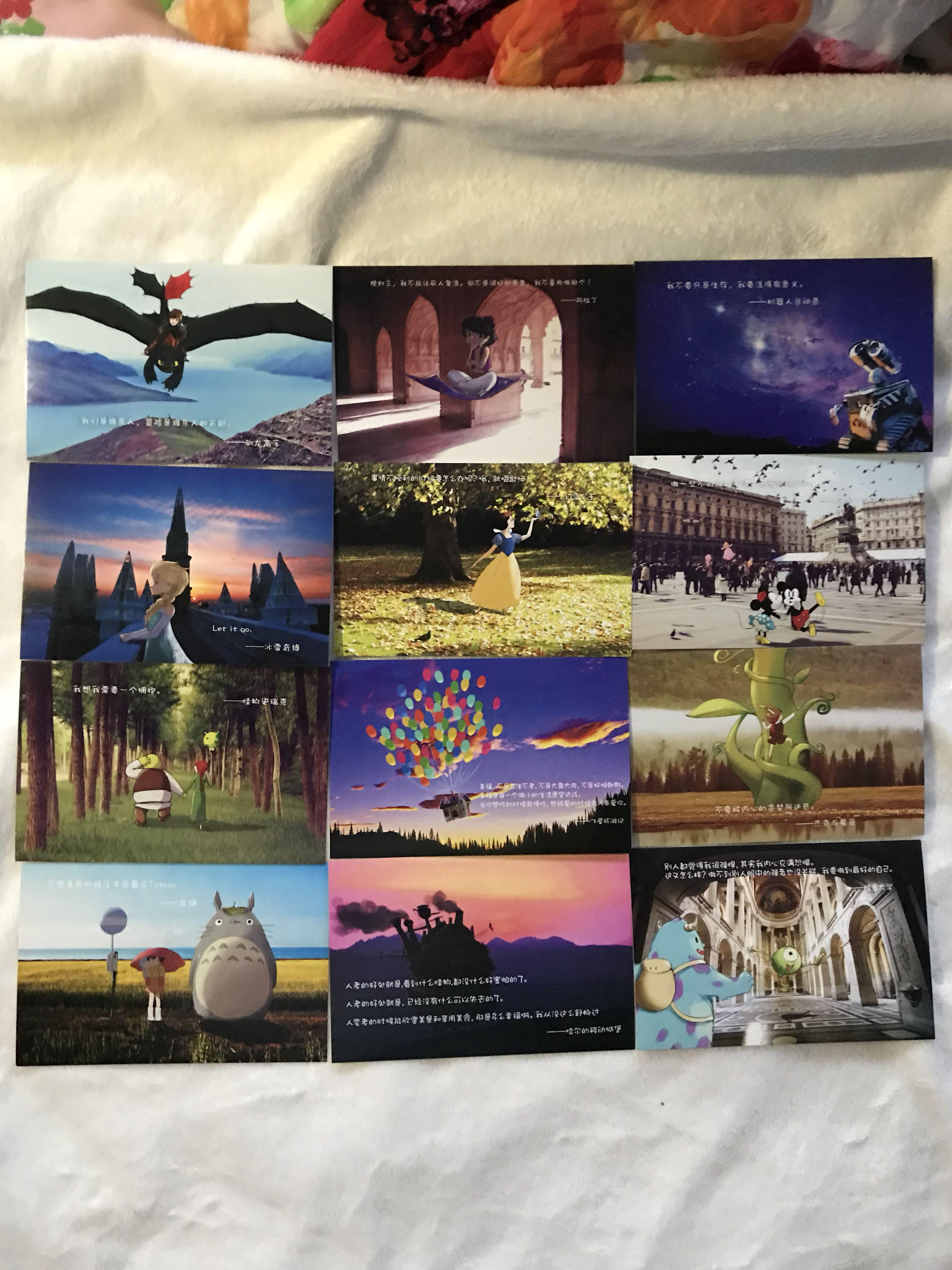 Infeel me Postcards: Fairytale Town, Books & Stationery