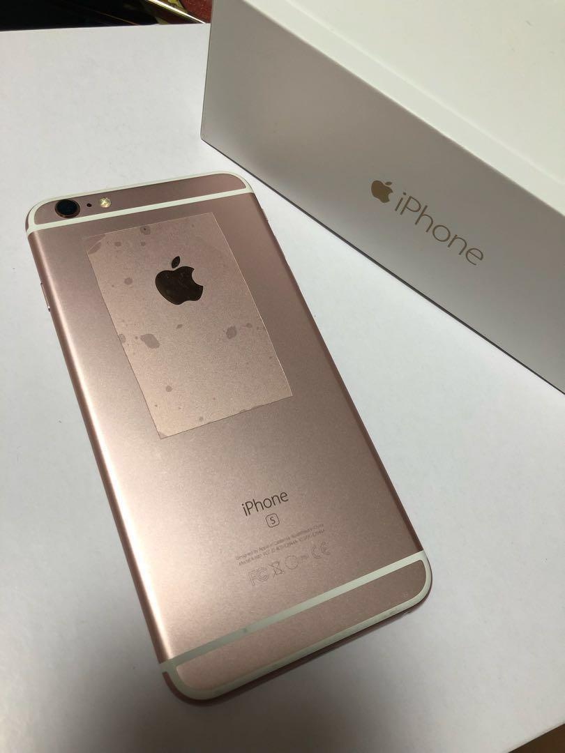 "iPhone 6S Plus 5.5"" 128G 玫瑰金 Rose Gold"