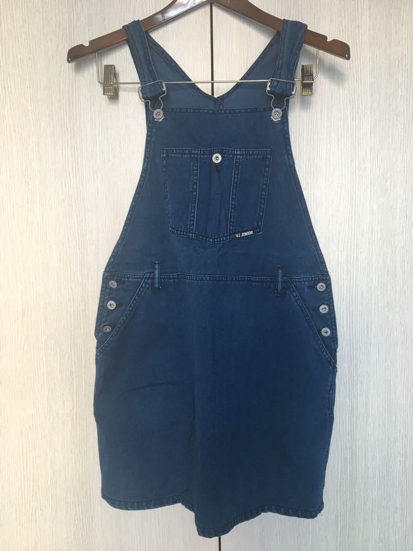 ad674e0a703 Ladies denim dungaree (skirt) VJ   Co.