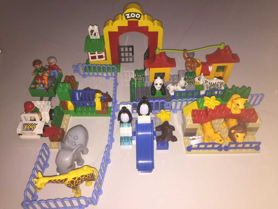 Lego Duplo Big Zoo 6157 Toys Games Bricks Figurines On Carousell 10593 Fire Station