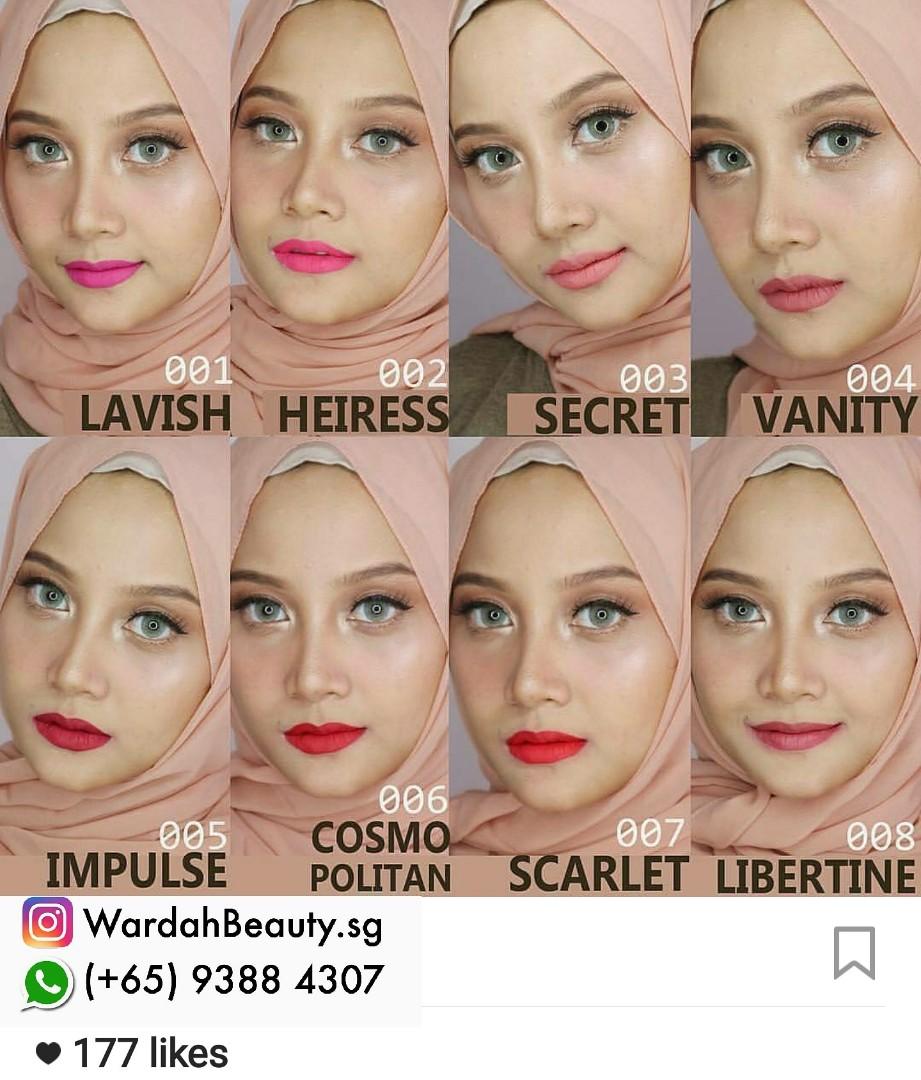 Make Over Matte Lip Cream Wardah Sisters Brand Health Beauty Lipcream Photo