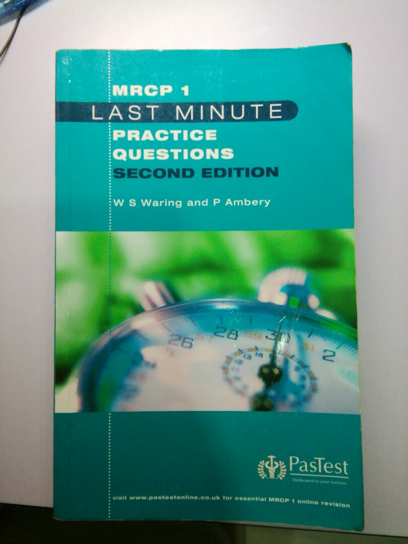 MRCP 1: Last Minute MRCP 1 Practice Questions, Second Edition