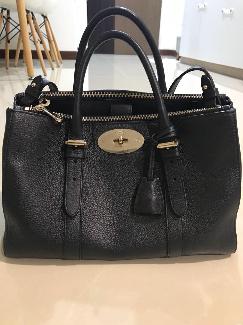 17ee45c7d4 Mulberry Bayswater Double Zip bag