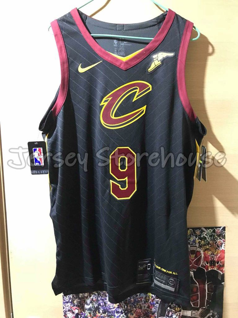 timeless design 8fd2e a4b56 Nike NBA Dwayne Wade Cleveland Cavaliers Statement Authentic Jersey with  Goodyear Wingfoot Patch 落場版球衣