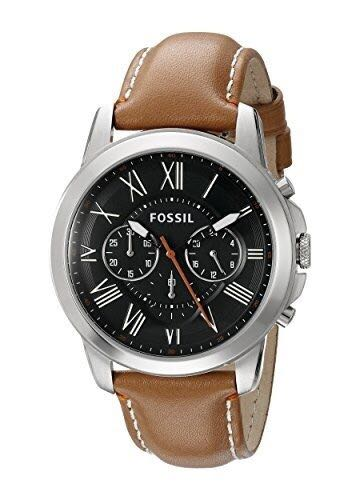 ec4d5771db2 OFFER SALE - Fossil Mens FS4918 Grant Chronograph Stainless Steel ...