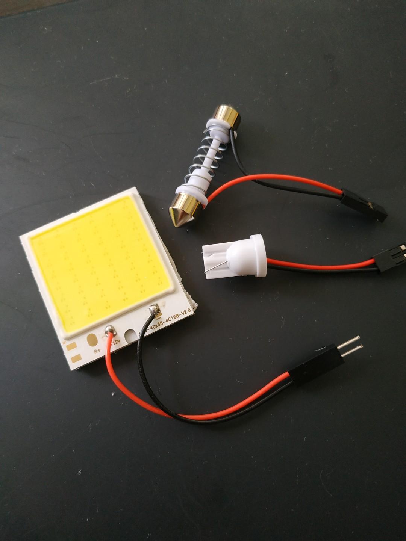 Sensational Offer Ultra Bright White Cob Chip On Board Car Led Eqv To 48Leds Wiring Database Liteviha4X4Andersnl