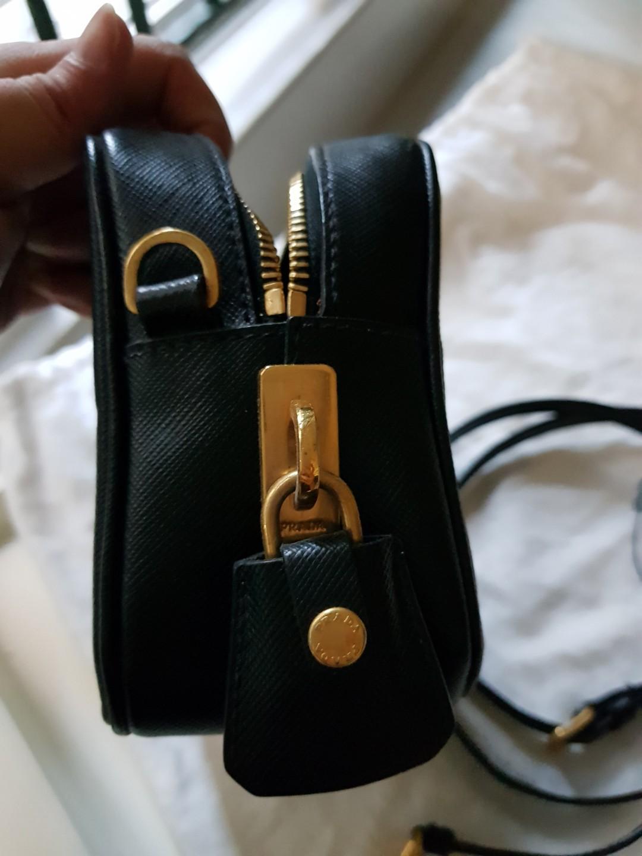 40fd089671a7 Prada Saffiano Leather Crossbody Bag