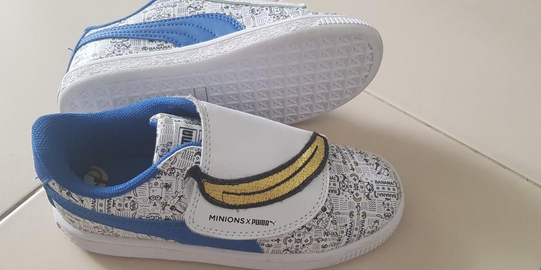 Puma Shoes x Minions. Boy s shoes. 1ec931f9d
