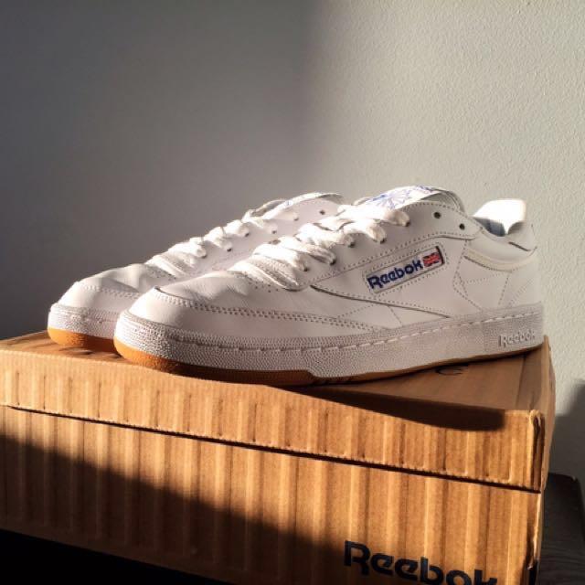 0357ac2861f Reebok Club C 85 Int- White Royal-Gum Sneaker