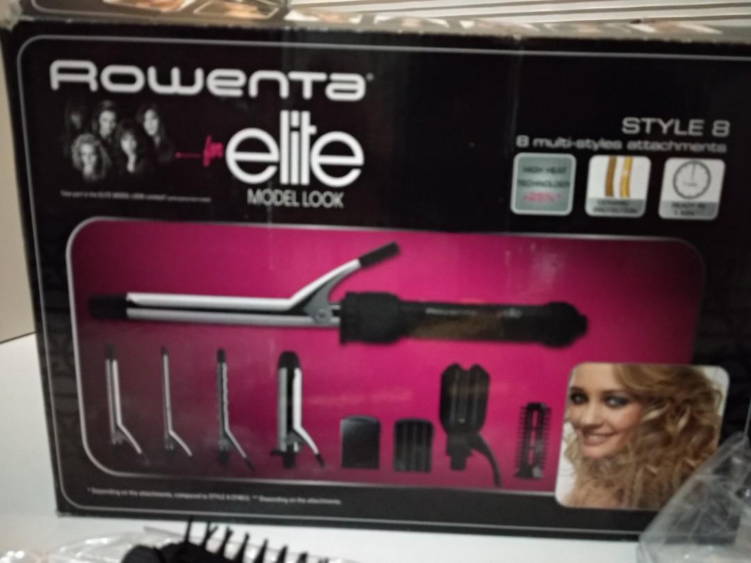 Rowenta 電髮器 只用一次 齊配件