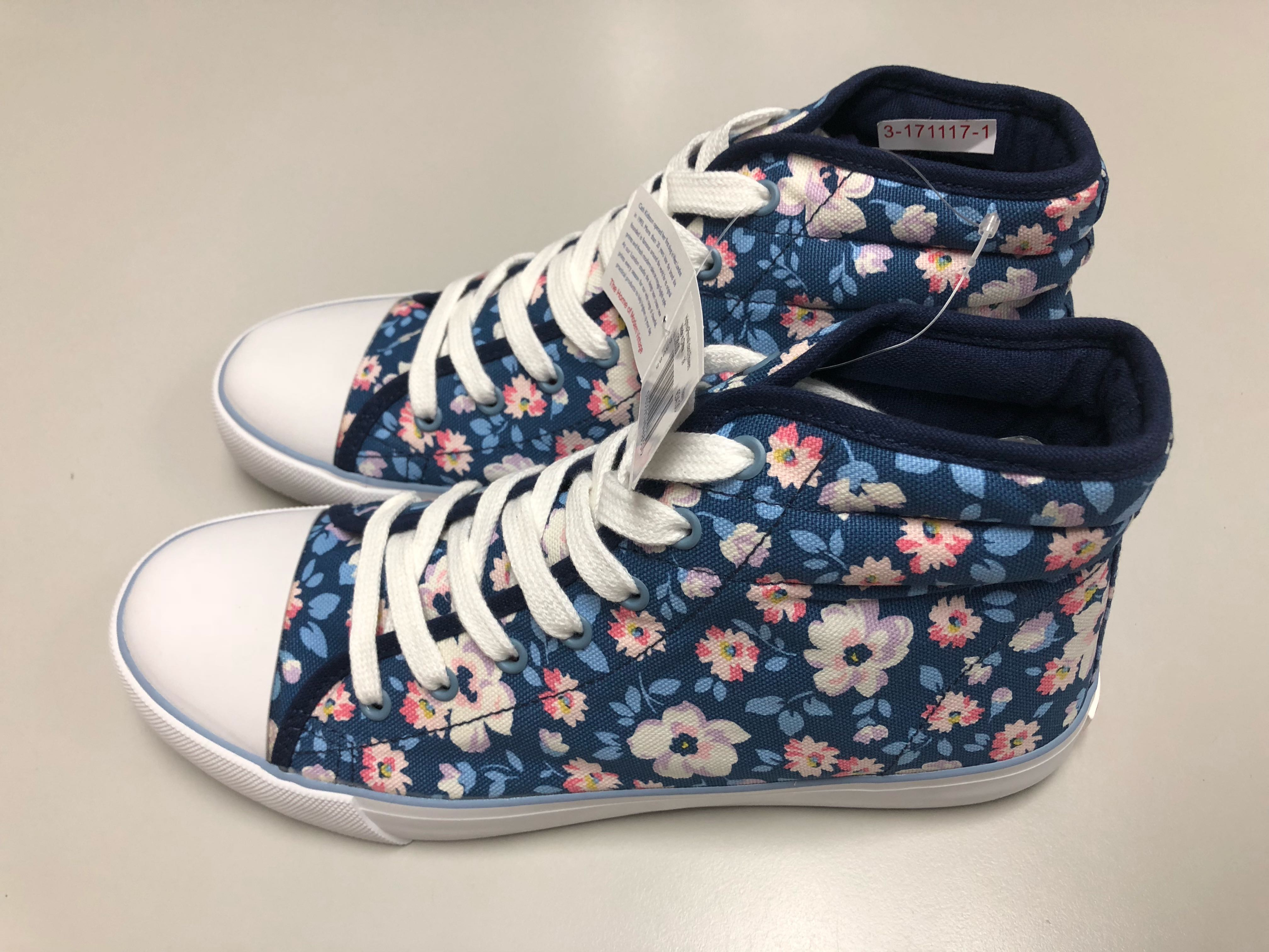 Ladies Cath Kidston Shoes Plimsoles Slip On Shoes New Size 7 Clearance Price Comfort Shoes Clothing, Shoes & Accessories