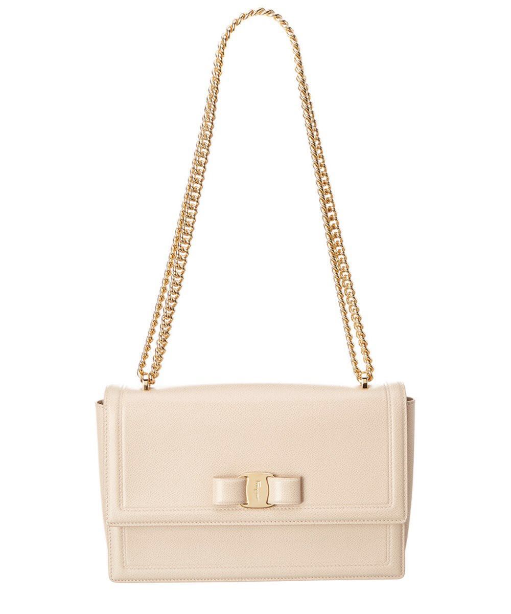 0e3228e3433 Salvatore Ferragamo Ginny Medium Vara Flap Bag, Luxury, Bags ...