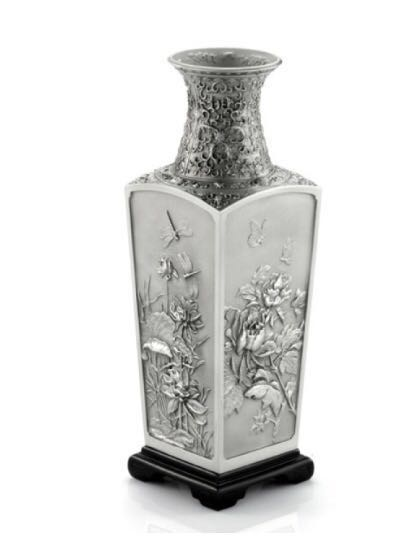 Selangor Pewter Vase Of The Four Seasons Original Price 380