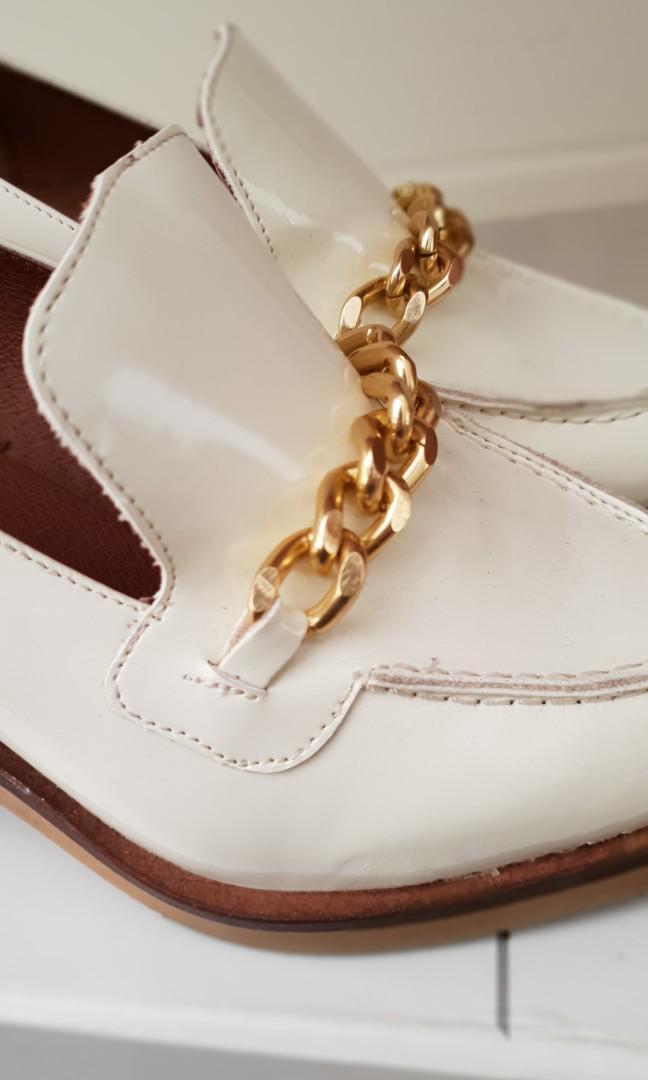 Sheek Topshop Heeled Loafers
