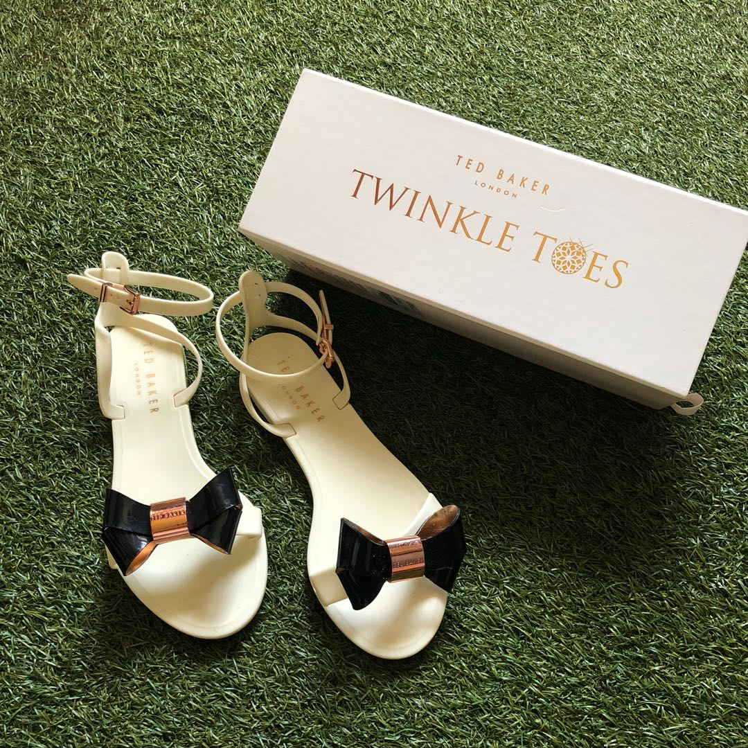 31390842a Ted baker twinkle toes jelly sandals