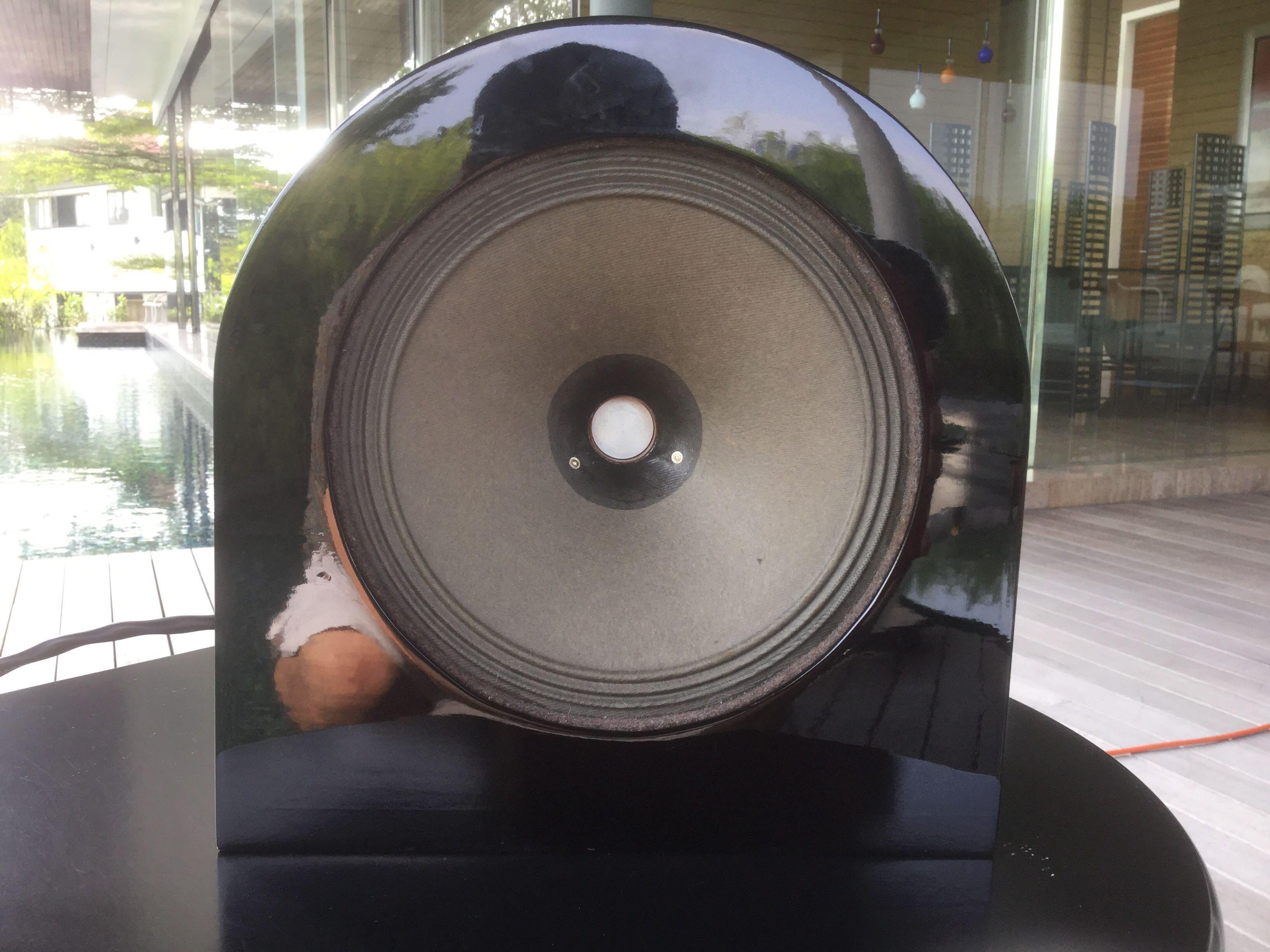 Telefunken Vintage Speaker with Custom Stand