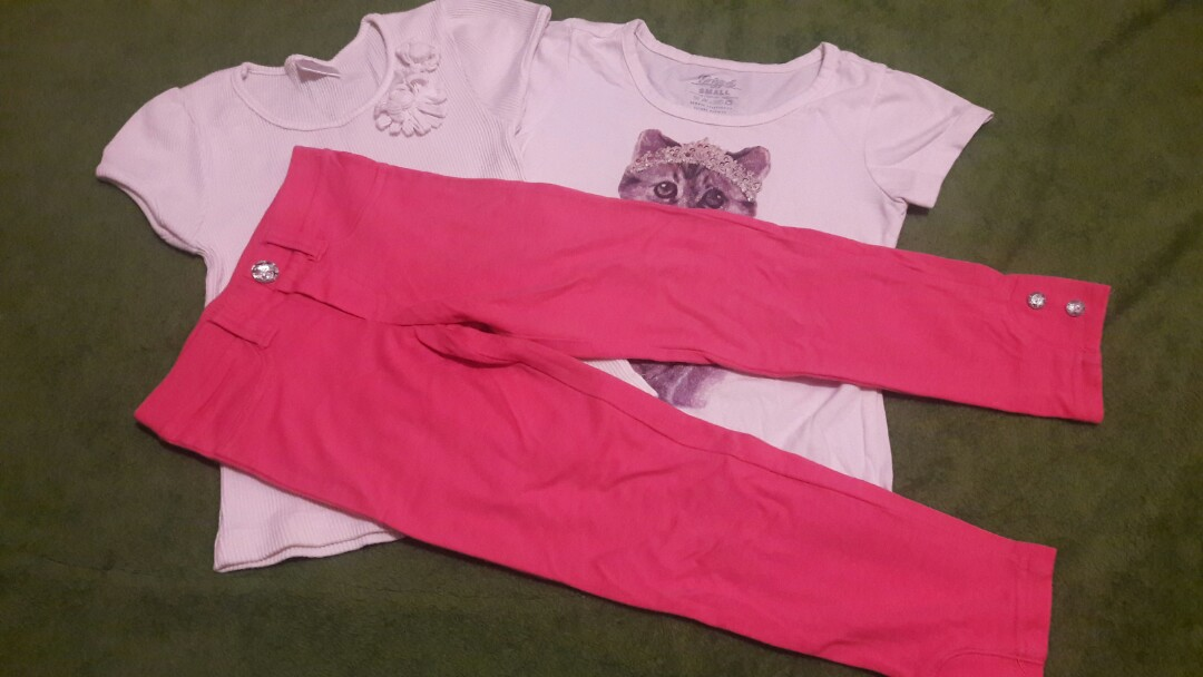 442ef6d34 Terno (1 Leggings and 2 Tops included)