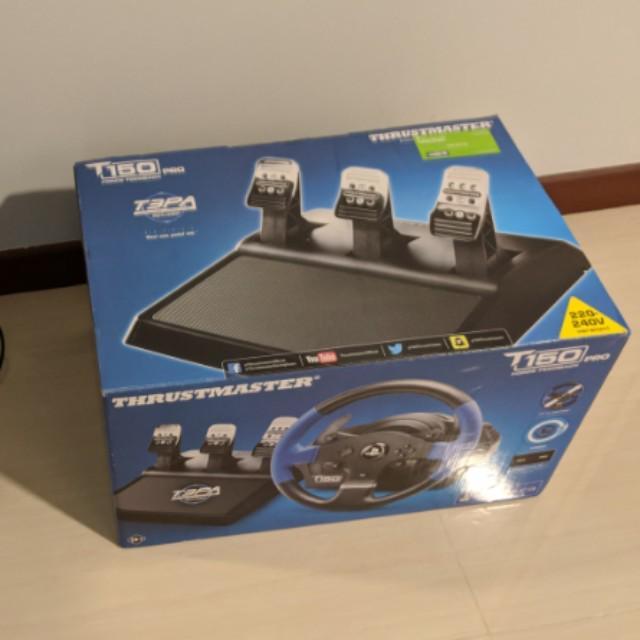 Thrustmaster T150 Pro Steering Wheel, Toys & Games, Video