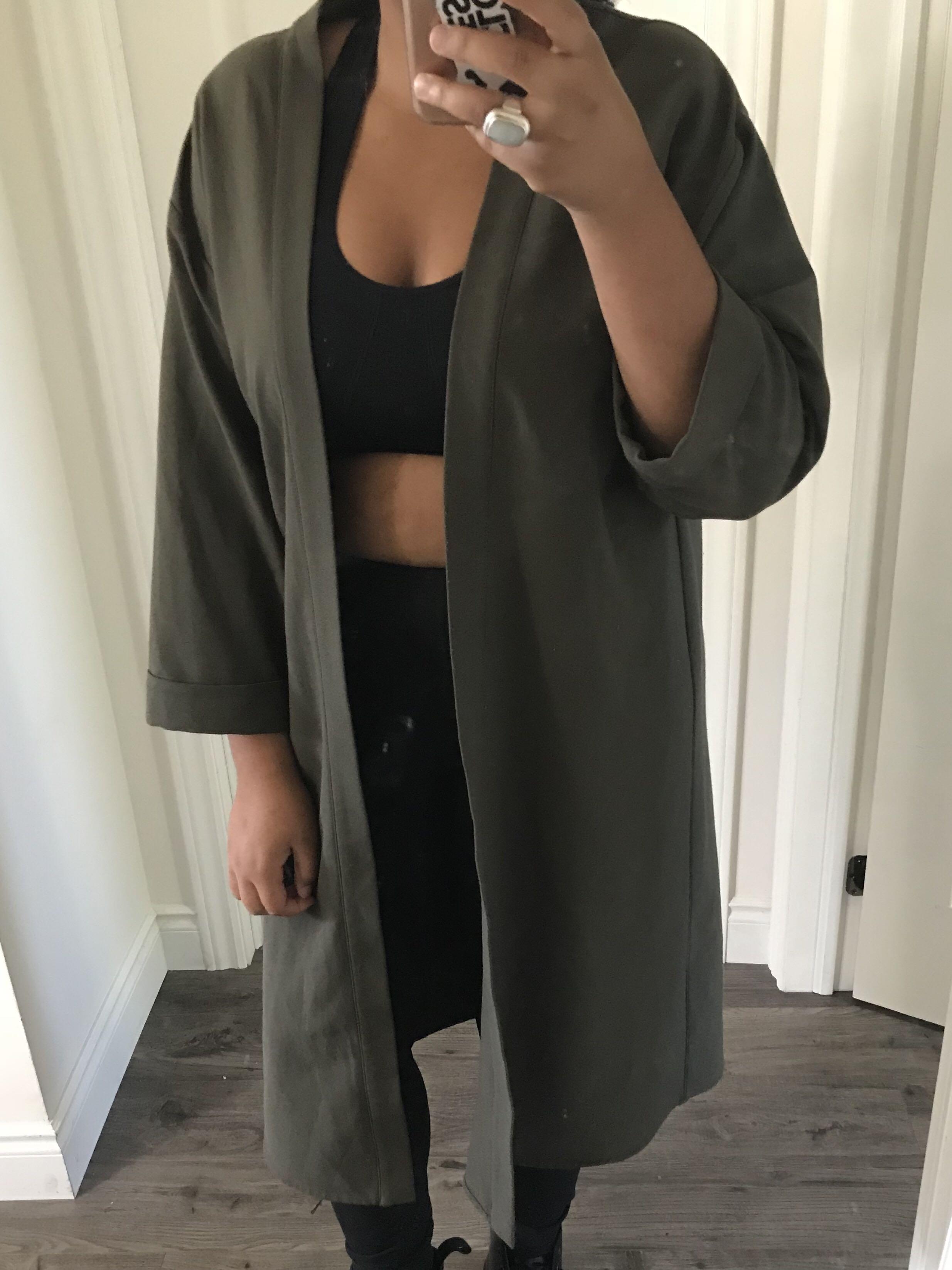 TOPSHOP duster jacket