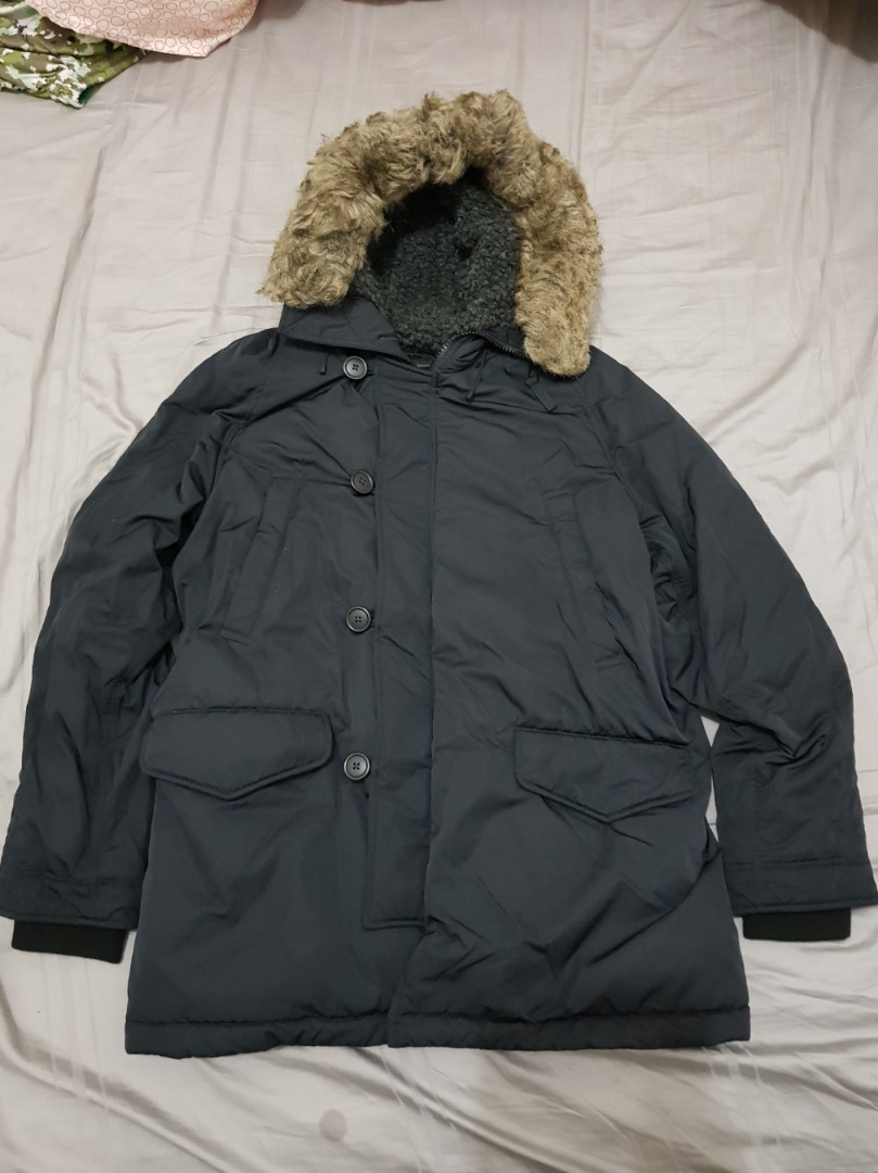 cf227e041 Uniqlo Men Ultra Warm Down Jacket - XL - Black